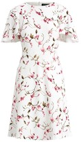 Ralph Lauren Floral Ruffle-Sleeve Dress
