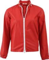 Jil Sander Alfa Leather Bomber Jacket