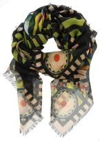 Givenchy Egyptian Mask Scarf