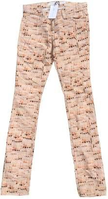 Etoile Isabel Marant \N Orange Cotton Trousers for Women