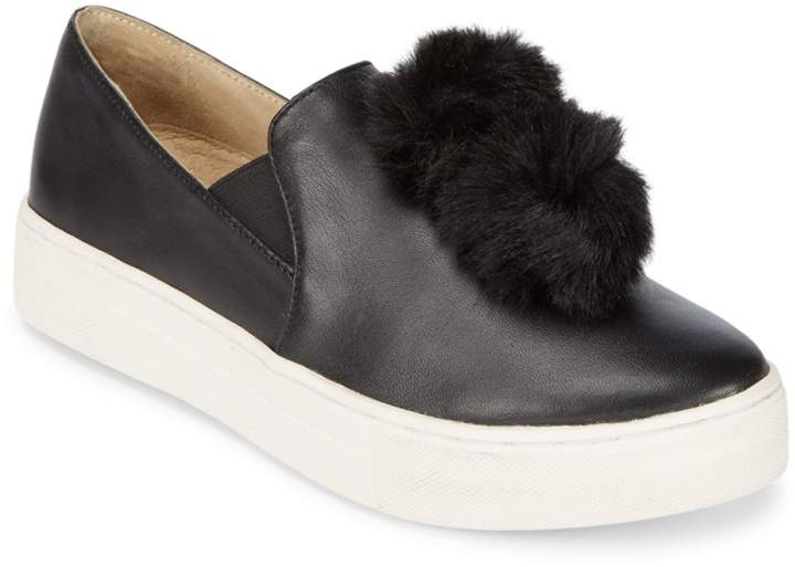 4ed3712b577ff Gizmo Faux Fur Pom-Pom Sneakers