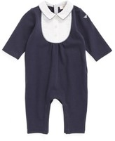 Armani Junior Infant Boy's Bibbed Romper