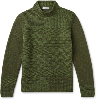 Inis Meáin Merino Wool And Cashmere-Blend Mock-Neck Sweater