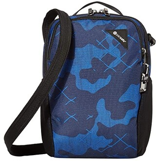 Pacsafe Vibe 200 Anti-Theft Compact Travel Bag (Granite Melange) Day Pack Bags
