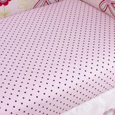 Pem America Too Good by Jenny McCarthy Pretty in Pink Fitted Crib Sheet