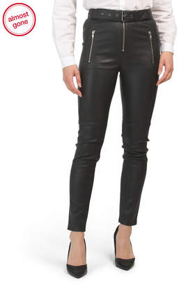 Kamil Lamb Leather Pants