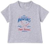 Petit Bateau Baby boys silkscreen print T-shirt