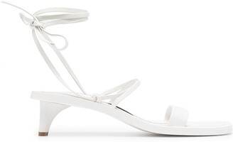 Jil Sander 45mm Strappy Sandals