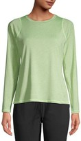 Athletic Works Women's Active Performance Long Sleeve Crewneck Commuter T-Shirt