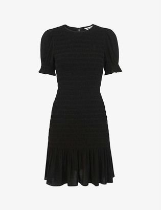 Whistles Yasmin crepe midi dress