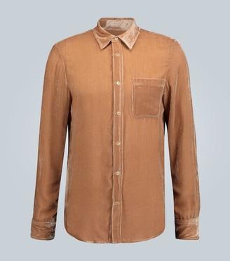 Sies Marjan Sander velvet corduroy shirt