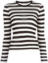 Ermanno Scervino striped jumper - women - Cotton/Polyamide - 38