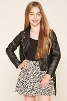 Forever 21 Girls Leopard Skirt (Kids)