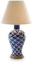 Bunny Williams Home Chicken Feather Table Lamp - Blue