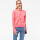 Paul Smith Women's Pink Cotton Cardigan