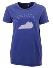 Royce Apparel Inc Women's Kentucky Wildcats Vintage Wash T-Shirt