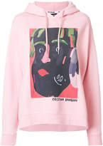 House of Holland illustrated print hoodie