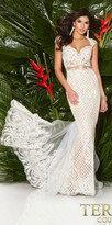 Terani Couture Sweetheart Illusion Majestic Fitted Evening Dress