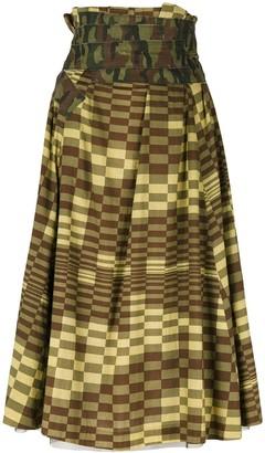 Comme des Garcons Pre-Owned Longuette skirt
