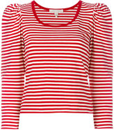 Marc Jacobs striped top - women - Cotton - S