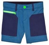 Stella McCartney Blue Joe Shorts with Contrast Pockets