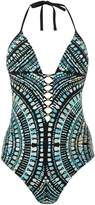 Kenneth Cole Desert romance printed swimsuit