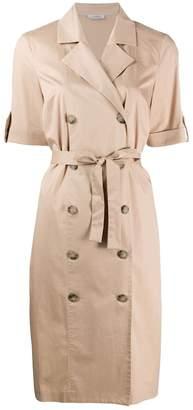 Peserico double-breasted midi dress