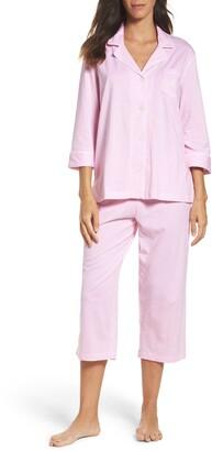 Lauren Ralph Lauren Knit Crop Cotton Pajamas
