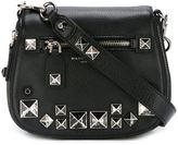 Marc Jacobs 'Recruit Chipped Studs' saddle crossbody bag