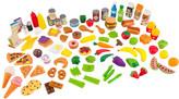 Kid Kraft Tasty Treats 105 Piece Food Play Set