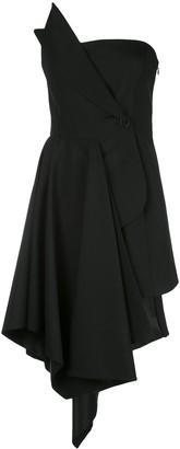 Monse Asymmetric Short Dress