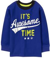 Gymboree Awesome Time Tee