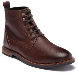 Ben Sherman Brent Plain Toe Leather Boot