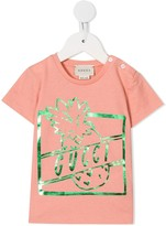 Gucci Kids pineapple print T-shirt