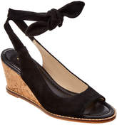 Bettye Muller Playlist Suede Wedge