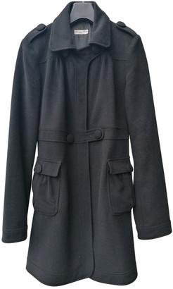 American Retro Black Cashmere Coats