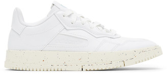 adidas White Clean Classics SC Premiere Sneakers