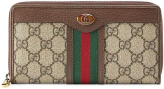 Gucci Monogram Pattern Wallet