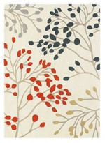 Sanderson Rugs Pippin Charcoal Coral Rug