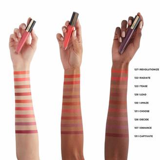L'Oreal Rouge Signature Matte Liquid Lipstick 7ml (Various Shades) - 129 I Lead