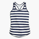 New Balance for J.Crew perfect tank top in stripe
