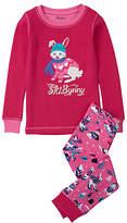 Hatley Children's Ski Bunny Pyjamas, Pink