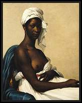 Posters 2 Prints Portrait of a Negress, 1799-1800