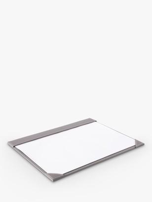 Osco Faux Leather A3 Desk Mat Notepad