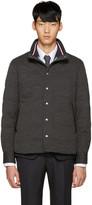 Moncler Gamme Bleu Grey Down Jacket