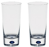 Orrefors Intermezzo Blue Set of 2 Highball Glasses