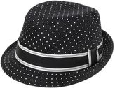 Dolce & Gabbana Polka Dots Printed Cotton Twill Hat