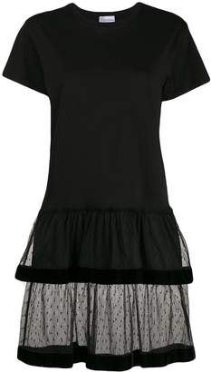 RED Valentino tulle skirt T-shirt dress