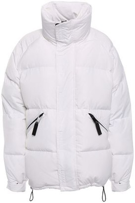 Sandro Quilted Shell Down Coat