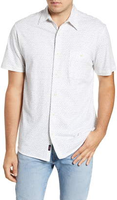 Faherty Everyday Short Sleeve Button-Up Shirt